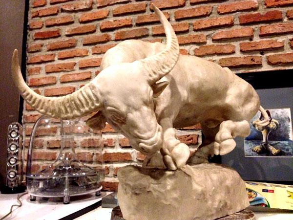 Bronze Wild sculpture by Artist Praiva Raiva